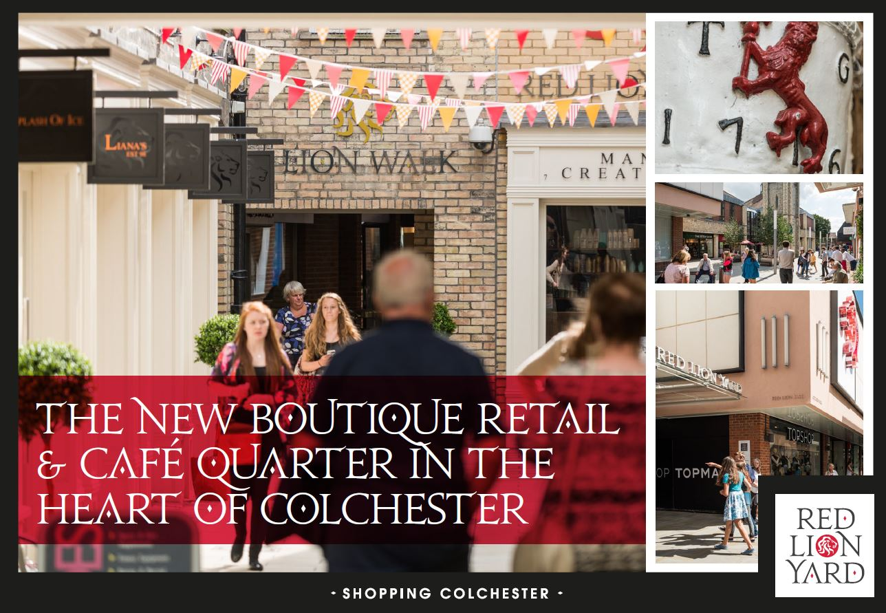 NEW BOUTIQUE RETAIL & CAFÉ QUARTER IN HEART OF COLCHESTER ON MARKET