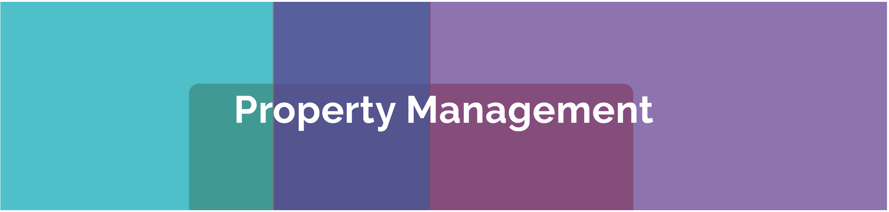 Rent Collection | Service Charge | Planned Maintenance | Asset Management Header Image