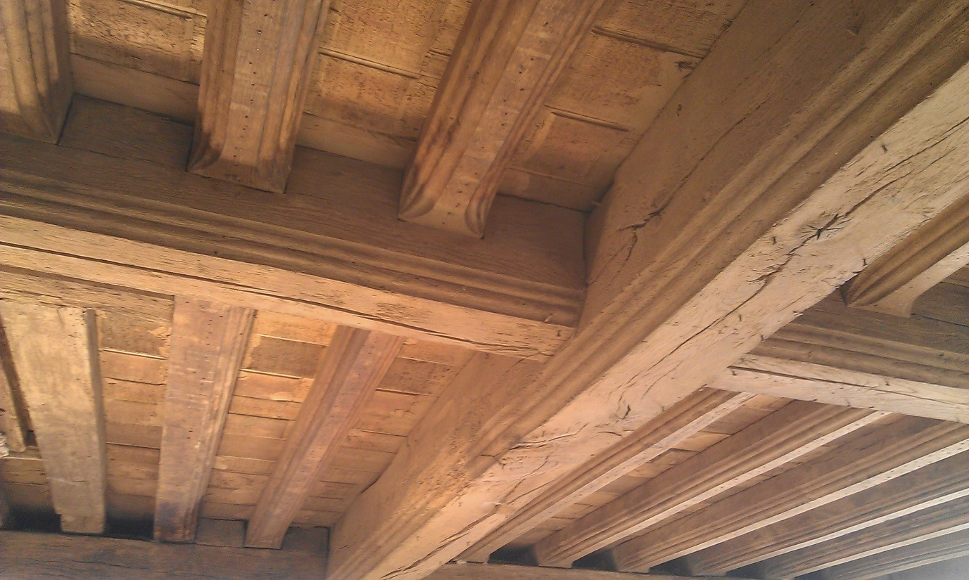 Ice Blast Restores Timber Frame